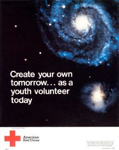 An American Red Cross youth volunteer poster.
