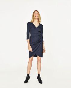 ZARA - WOMAN - DRAPED SHIFT DRESS
