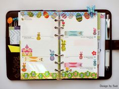 The week nr. 15 - sure, in Easter mood again #planner