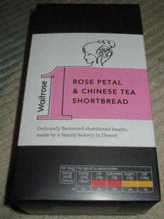FOODSTUFF FINDS: Rose Petal & Chinese Tea Shortbread (Waitrose) [By…