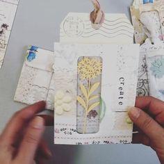 Envelope Book, Diy Envelope, Scrapbook Supplies, Scrapbook Paper, Quilling Comb, Neli Quilling, Junk Journal, Journal Ideas, Paper Pocket