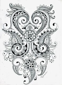 Mehndi Designs - 16th December 2013 | Mehndi Designs - heart