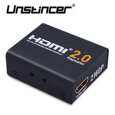 sale unstincer 60m hdmi extender hdmi 2 0 splitter repeater signal amplifier booster adapter 1080p60hz #hdmi #extender