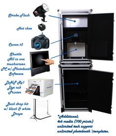 You Can Buy At Our Newly Design Photo Booths Complete