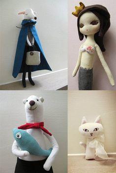Arisa dolls / Pinkoi http://knuffelsalacarteblog.blogspot.nl/