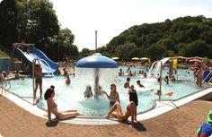 Camping Prümtal - Eifel - Oberweis - heel goe, groot zwembad, riviertje, mooi sanitair