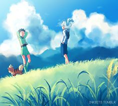 This image was perfect, Killua and Gon so beautiful!