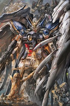 GUNDAM GUY: Awesome Gundam Digital Artworks [Updated 1/12/17]