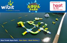 Inflatable Water Park - New Forest