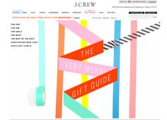 Loving the dynamic page \\ Via J.Crew >>  http://www.jcrew.com/AST/DynamicAsst/Gift_Guide.jsp