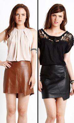 Linear Skirt by WISH | Women's Skirts | @ alibiOnline
