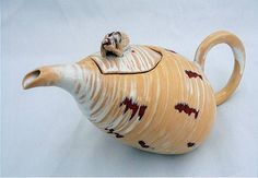 Ceramics by John Townsend at Studiopottery.co.uk - 2012. Migraine teapot