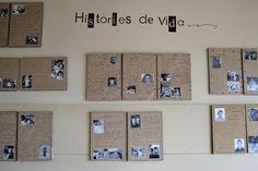 fer visible l'invisible...: FOTOGRAFIA I MEMÒRIA  El Martinet (Ripollet): reconstruir la història dels avantpassats Projects To Try, Photo Wall, Display, School, Frame, Murals, Curriculum, Learning Environments, Fotografia