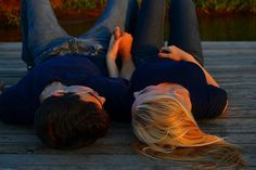 We could just lay here and talk for hours