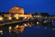 Castel Sant 'Angelo & Ponte Sant'Angelo http://www.panoramio.com/photo/86422785