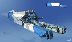 ArtStation - SpaceShip Designs 01, Yohann Schepacz OXAN STUDIO