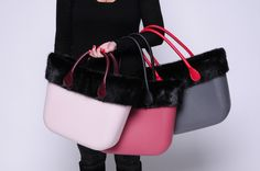 0fc60df75f All pictured with Black Mink Faux Fur O Bag Trim OBTFF02 1) O Bag Body