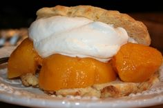 Shortcakes With Peaches Recipe