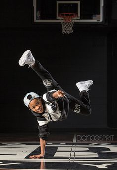 Devin Neal, 11, of The Brooklyn Nets Kids (photo by Erin Baiano for Dance Spirit)