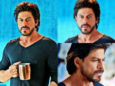 """SRK as Charlie in  """"Happy New Year """" (2014)"""