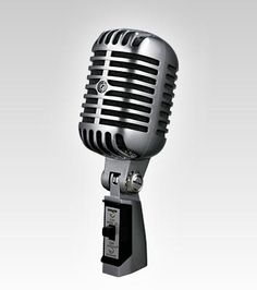 Shure Americas | 55SH Series II Iconic Unidyne Vocal Microphone | Retro Microphone