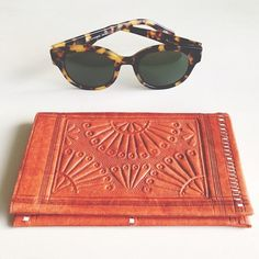 New goodies today! Karen walker shades and vintage wallet  - satyalila.tumblr.com