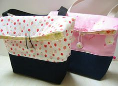 blissful: Back to school...lunch bags