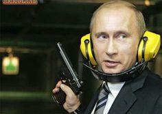 Cidadãos russos agora podem portar armas para defesa pessoal em público | #ArmasDeFogo, #DefesaPessoal, #Pistolas, #Revólveres, #Rifles, #VladimirPutin