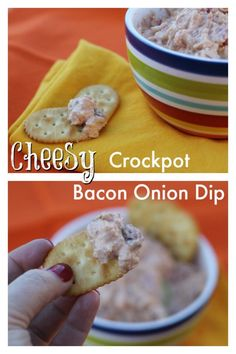 Cheesy. Bacon. Onion