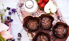 Kitchenette — Celozrnné čokoládové muffiny