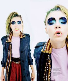 Cara Delevingne by Alexei Hay for Jalouse February 2012