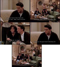 Joey,Monica and Chandler