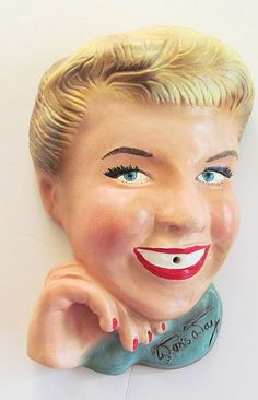 Beautiful  Vintage Antique DORIS DAY  by TextilesandOldThings, $195.00