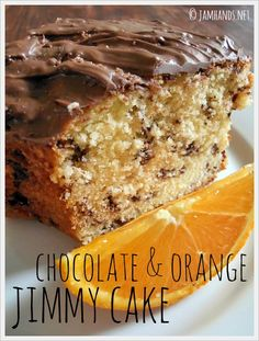 Jam Hands: Chocolate & Orange Jimmy Cake