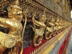 Wat Phra Kaew - Temple of the Emerald Buddha, Bangkok, Thailand Wander Woman, Thailand Adventure, Buddha Temple, Bangkok Thailand, Best Vacations, Phuket, Southeast Asia, The Row, Travel Photography
