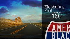 Drive By - Elephant's Feet in Highway 160 - Tonalea, Arizona