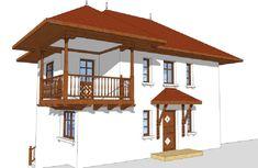 Sunt frumoase proiectele de case tradiționale românești concepute de arhitectul Adrian Păun | Adela Pârvu - Interior design blogger Traditional House, Gazebo, Outdoor Structures, Design Interior, Home Decor, Cottages, Ideas, Kiosk, Decoration Home