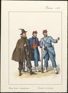 Volontari garibaldini, Francia 1871
