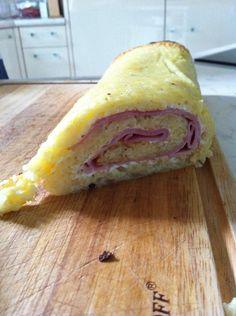 Roulé pommes de terre, jambon, fromage - À tester sans jambon pour une version végétarienne