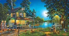 Dixie Hollow General Store Jigsaw Puzzle - 1000 Pieces