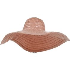 MARC JACOBS Large Plastique Raffia Hat (720 CAD) ❤ liked on Polyvore featuring accessories, hats, hair accessories, marc jacobs hat, brimmed hat, raffia hat and marc jacobs