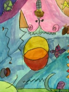 Joan+Miro+Abstract+Paintings+-+Artsonia+Lesson+Plan