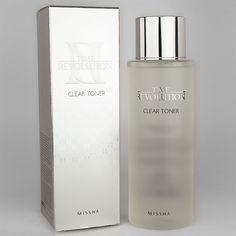 8806185792448 Missha Time Revolution NEW Clear Toner Eliminate Dead Skin Cells Korean Products, Acetic Acid, Alpha Hydroxy Acid, Facial Toner, Key Ingredient, Skin So Soft, Dead Skin, Korean Skincare, Make Up
