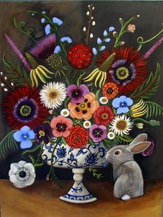 """""""Flora and Peter"""" by Catherine Nolin"""