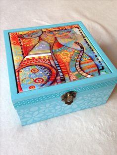 Caja con azulejo