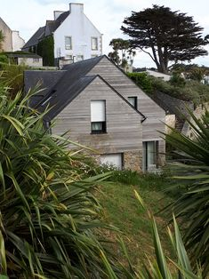 Wooden house on Ile de Batz