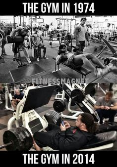 Sad, but true. Don't be part of the majority of people in the gym who text or do other things- go to the gym to get work done, its not social hour.