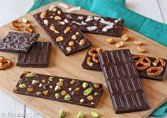 Design-Your-Own Chocolate Bars