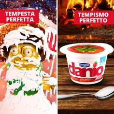 Se fuori il tempo non è un granché… meglio concedersi una pausa perfetta con Danio snack!