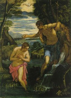 The Baptism of Christ 1570